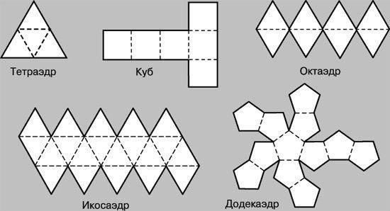 Поделки из геометрических фигур - разнообразие и варианты 86