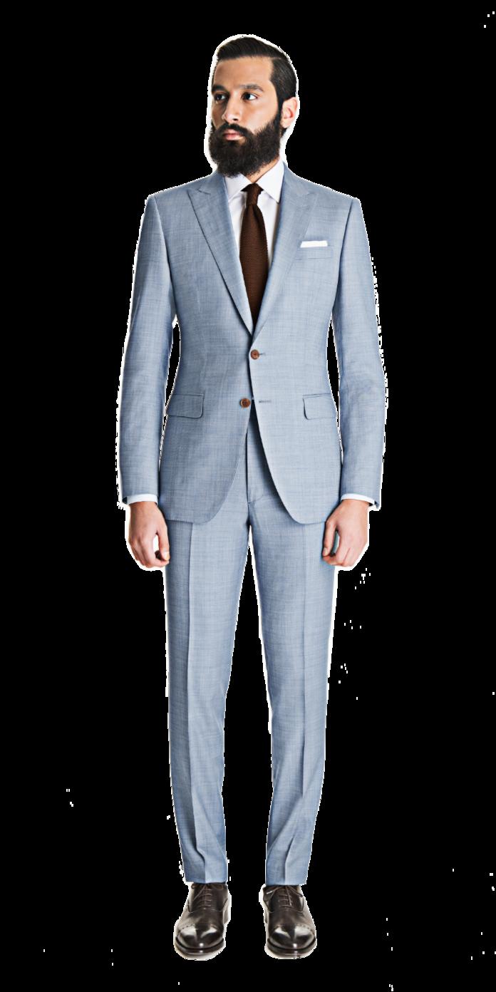 922e4b86dca6b4 Light Blue Gray Sharkskin Custom Suit   urban elegance Men's fashion ...