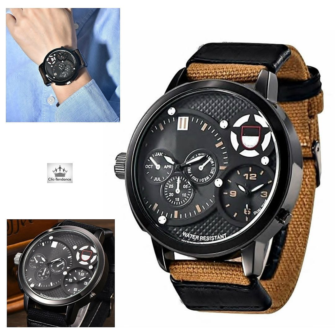 Montre Homme Only The Street Brown Beige Only The Street, car la Rue ... f04e7c1023ce