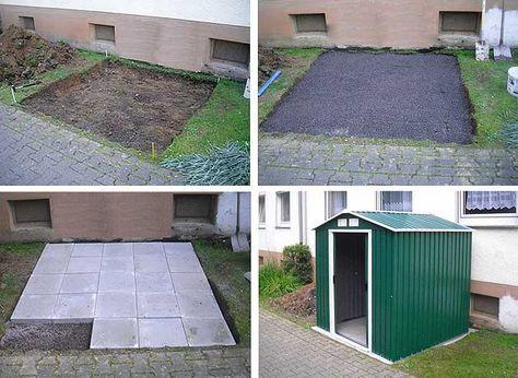 Das richtige Fundament für Ihr Gartenhaus Garten, Garten
