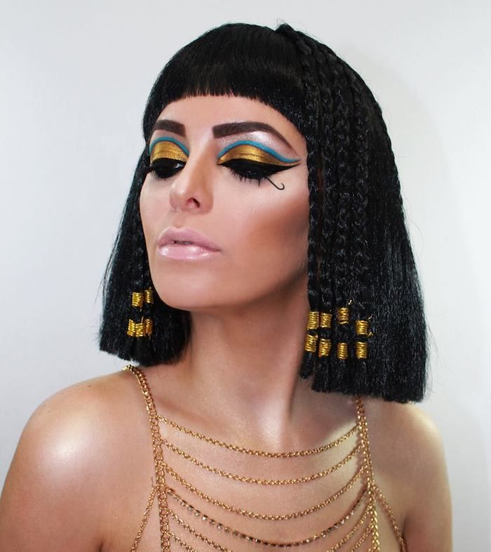 cleopatra schminken eignet sich sowohl f r besondere. Black Bedroom Furniture Sets. Home Design Ideas