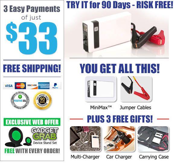 Order MiniMax™ Now!