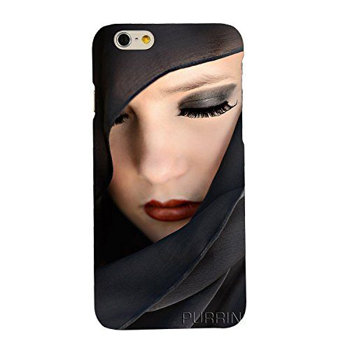 clapcart girl face printed mobile back cover for apple iphone 6