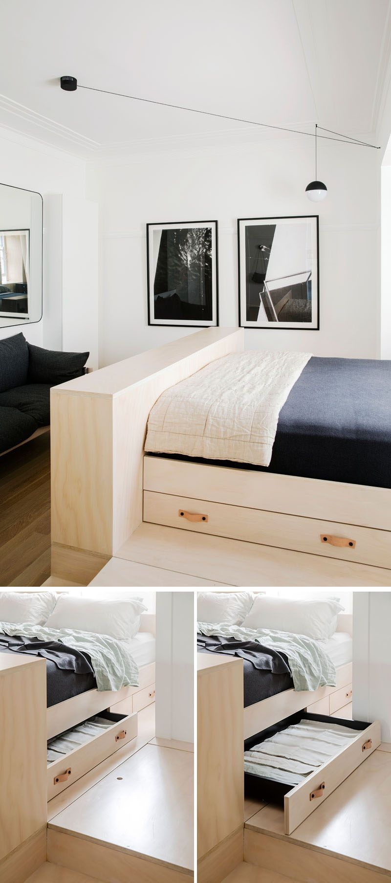 3 master bedroom apartments  This Small Apartment Is Filled With Creative Storage Solutions