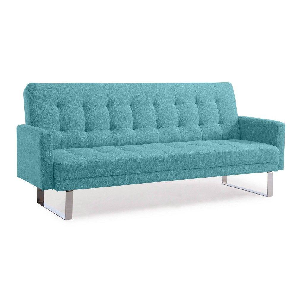 Click Clack Futon Sofa Bed Turquoise