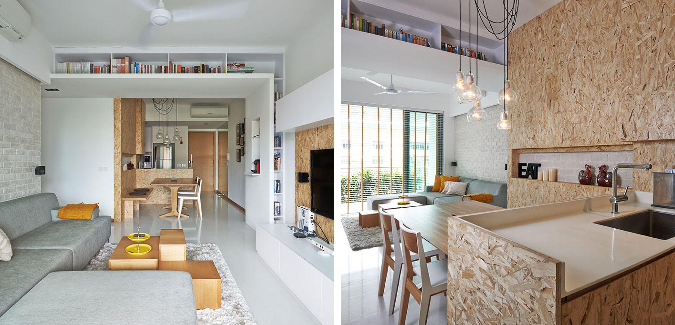 costruire una cucina con pannelli osb