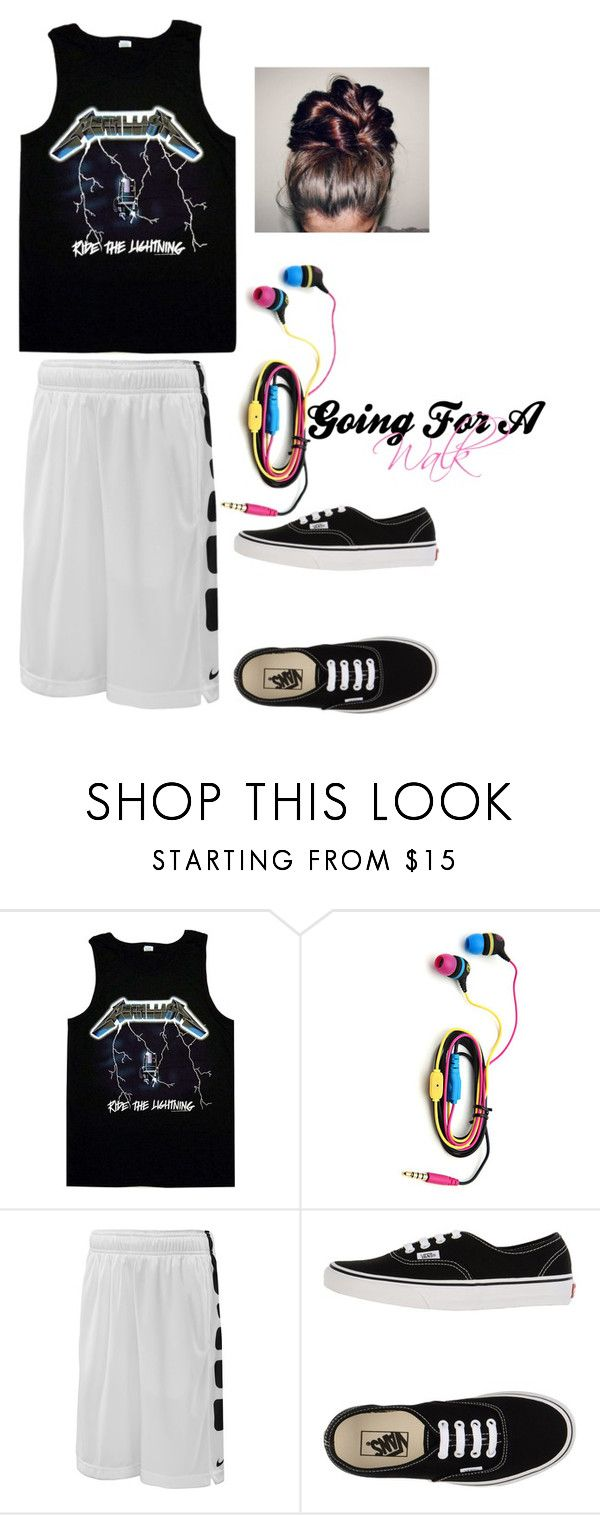 """Going For A Walk"" by xwrestlingmusic ❤ liked on Polyvore featuring NIKE and Vans"