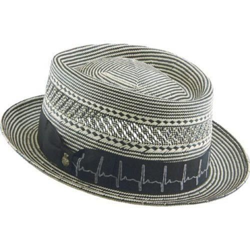 Step out in style with this two tone pork pie shaped hat. Size  Medium.  Color… 985609c59fc