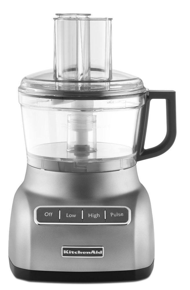 kitchenaid 7 cup big small mouth powerful food processor rkfp0711 rh pinterest com