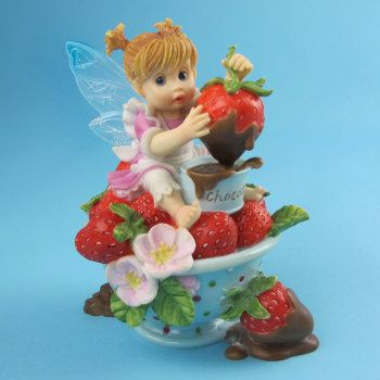 My Little Kitchen Fairies From Enesco Fairy Food Strawberry