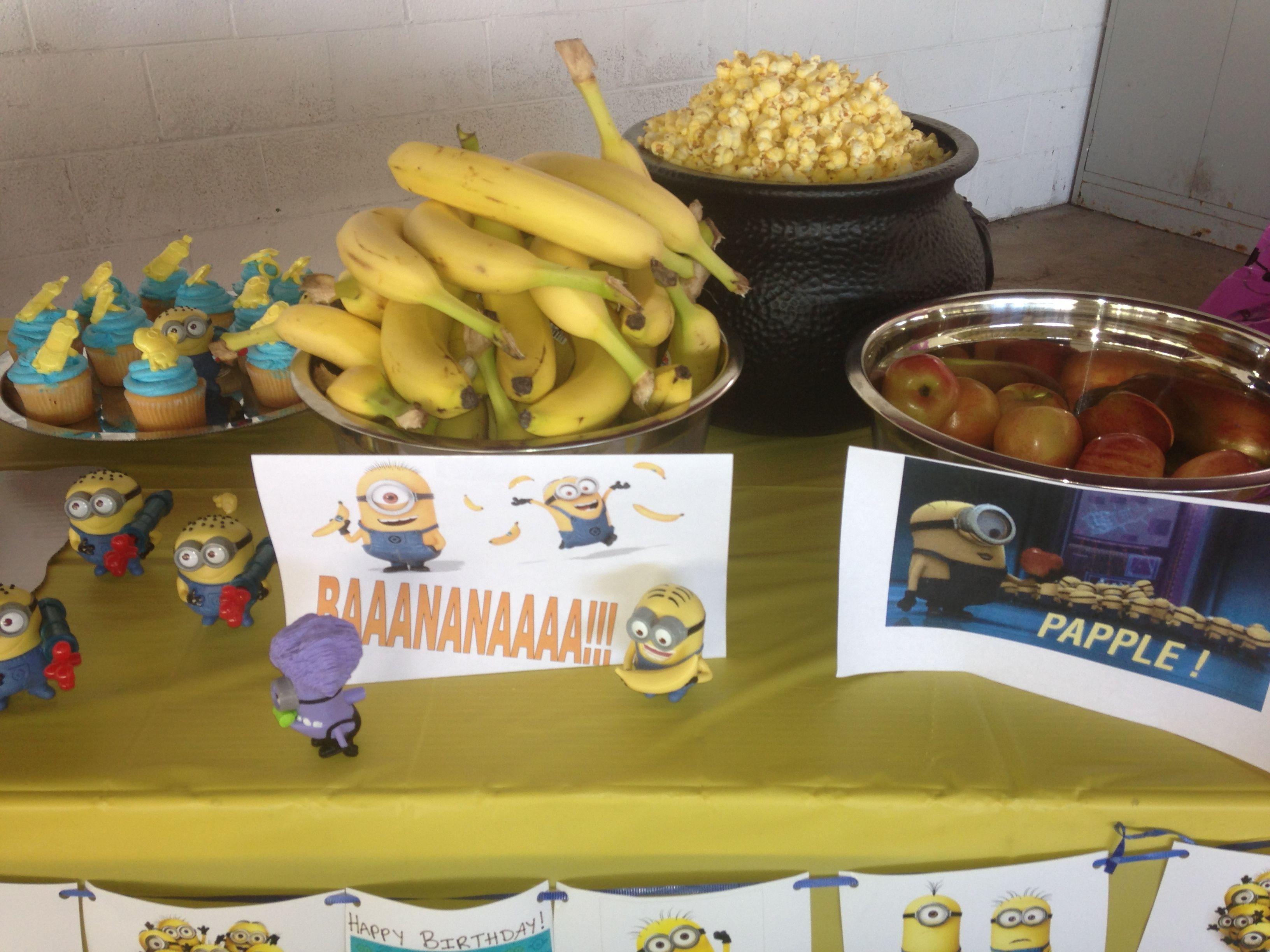 Minion Birthday party Minions Pinterest