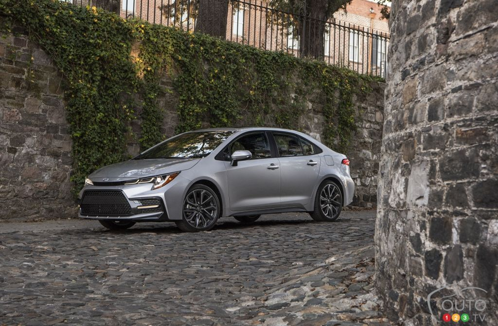 2020 Toyota Corolla Pricing and details for Canada