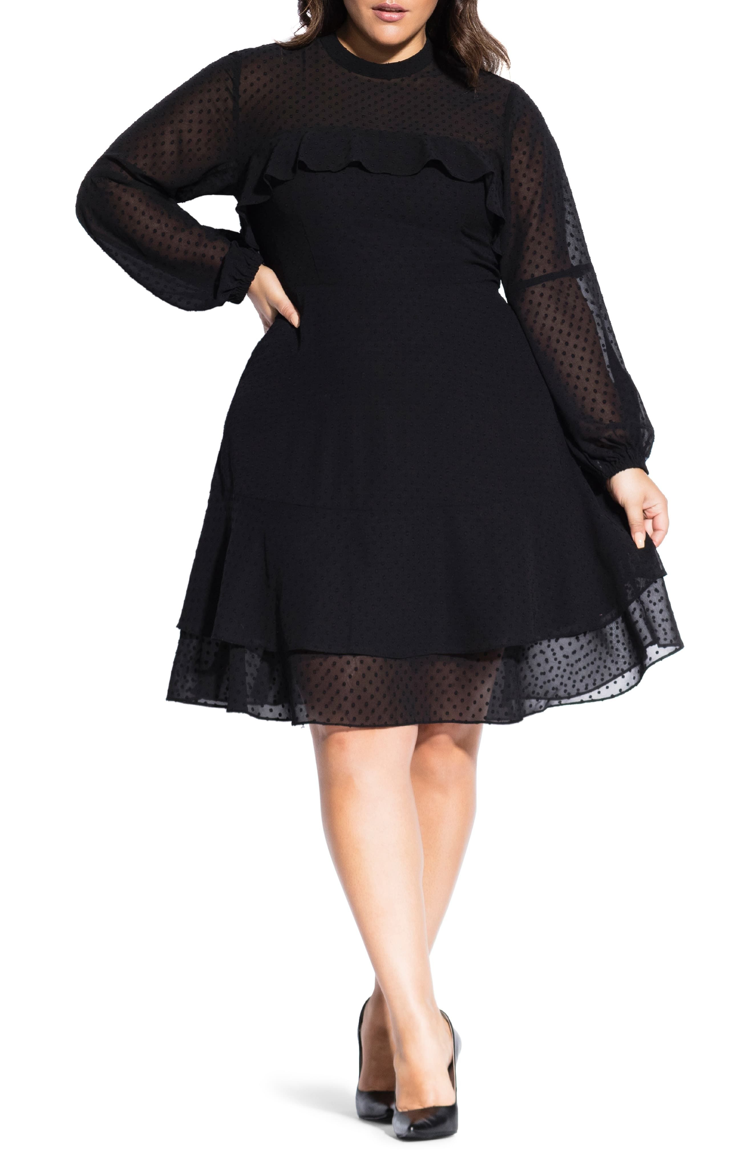 20+ Plus size fit and flare dress ideas