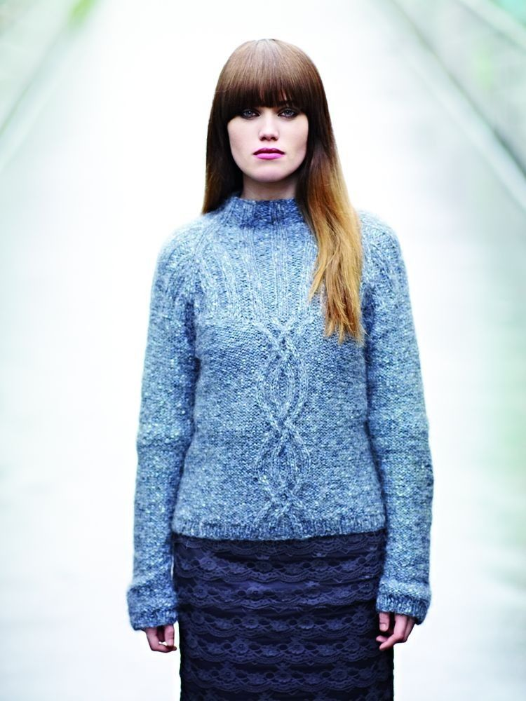 Frost by Rowan knitting book - Rowan's combination of vintage classic knits and elegant new-season fashions have inspired a following of fans as devoted as they are diverse, with many publications becoming collectors' items. Many of their talented designers have gone on to become household names (well, knitting households!)