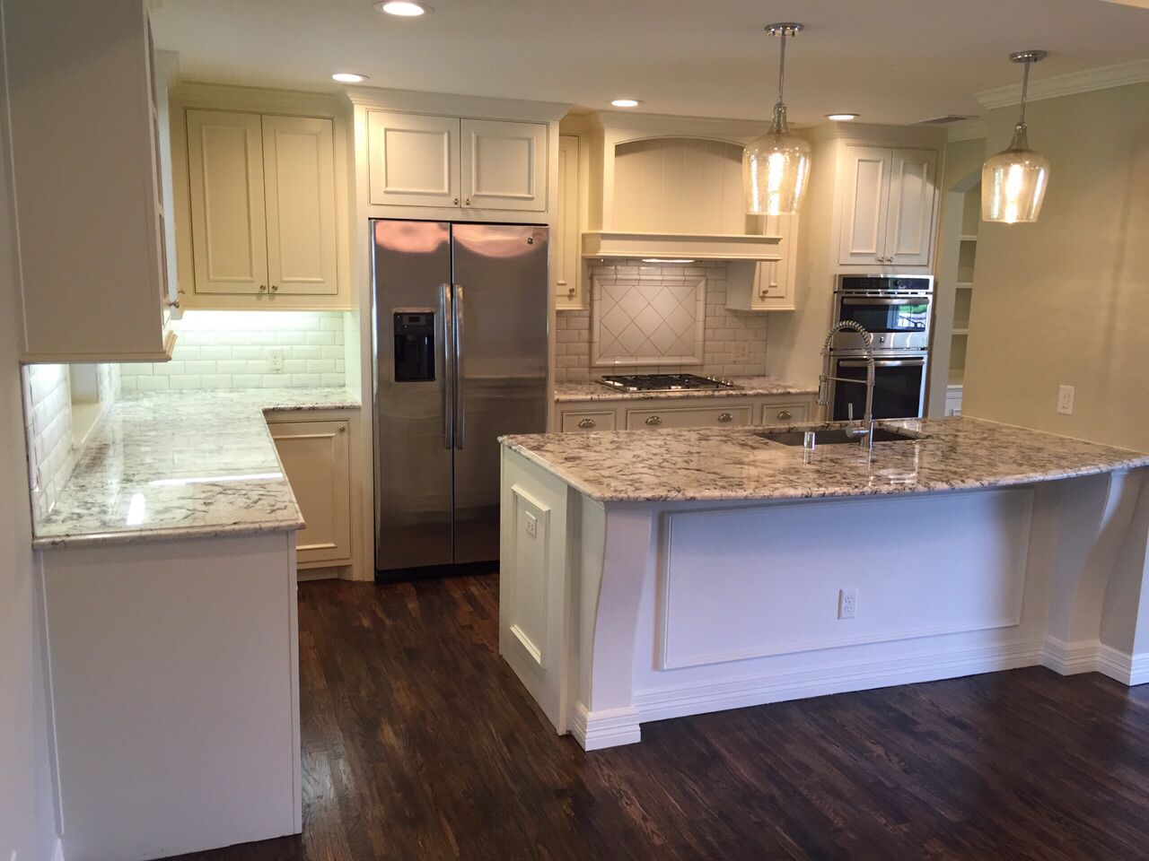 Patch Plus Paint Llc White Wash Kitchen Decor