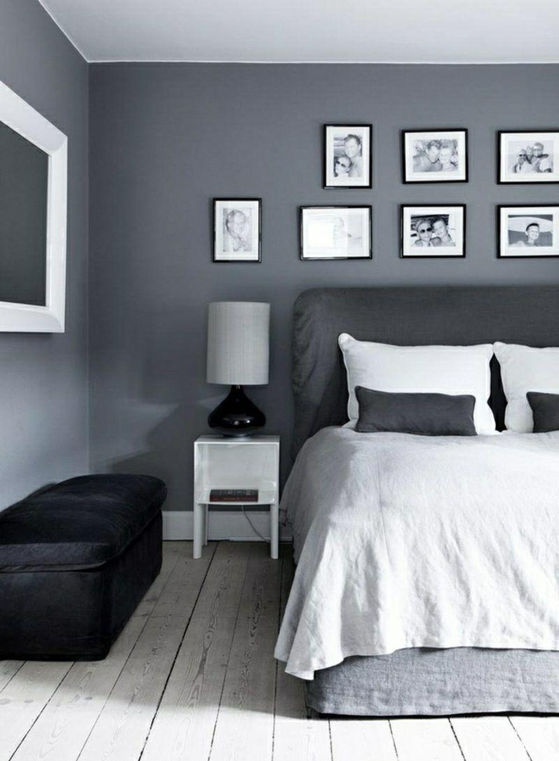 Moderne Wandfarbe Für Schlafzimmer