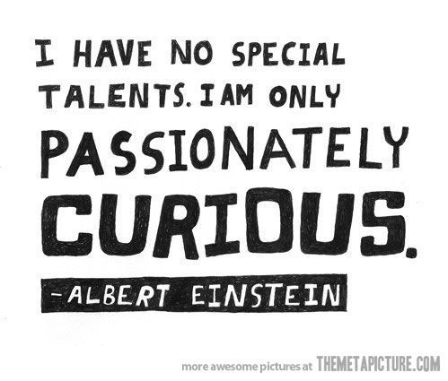 Funny Albert Einstein Quote Curious On Imgfave Einstein