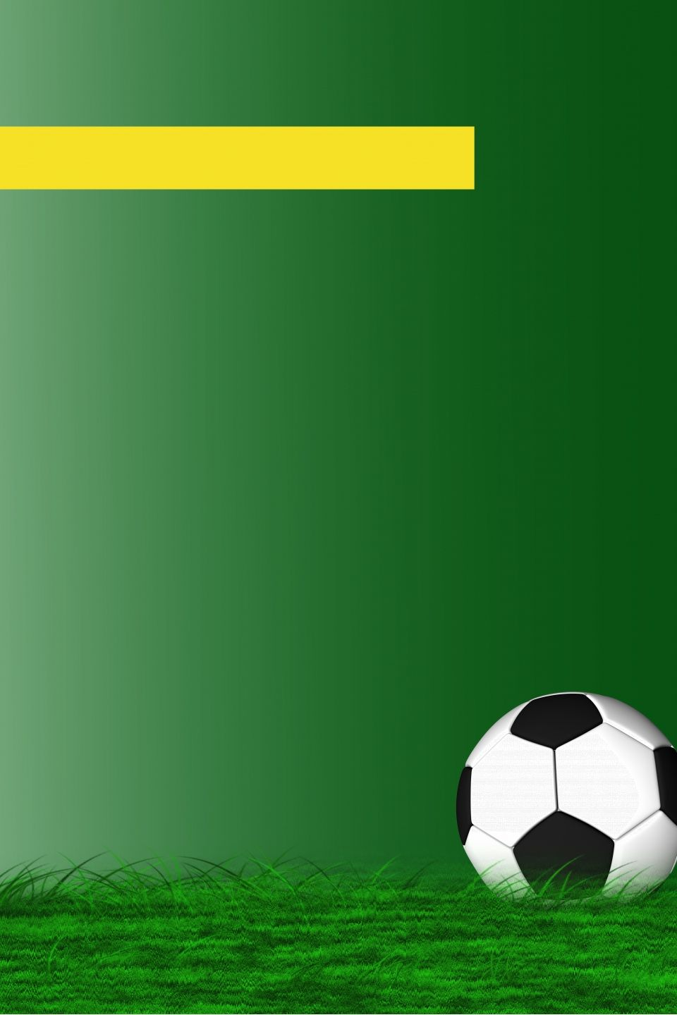 Football Advertising Poster Background On Green Lawn Football Poster Soccer Poster Football Background