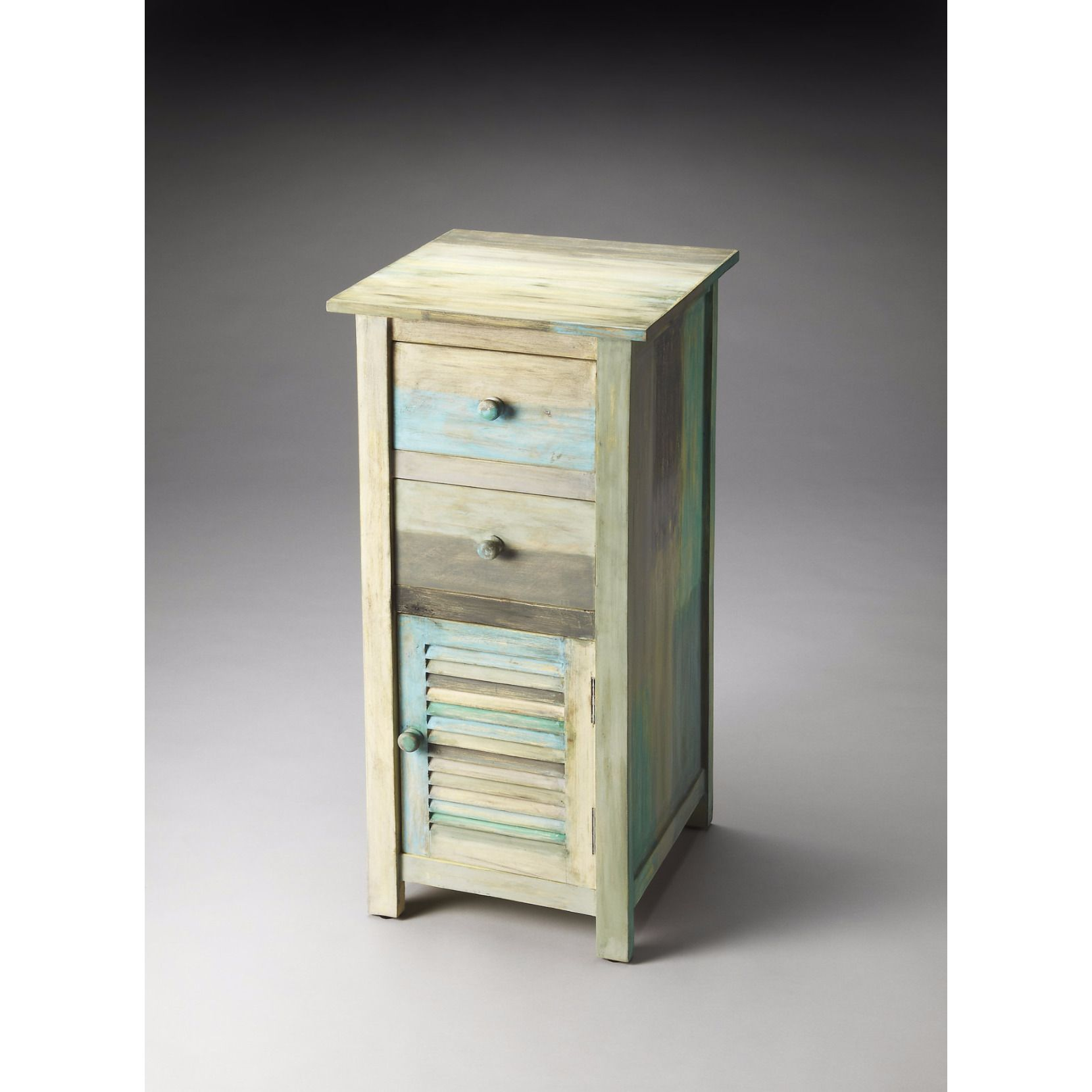 BUTLER FIONA PAINTED RUSTIC ACCENT CHEST