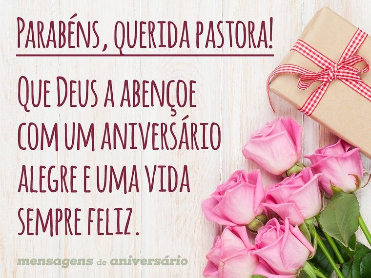 Parabéns Querida Pastora