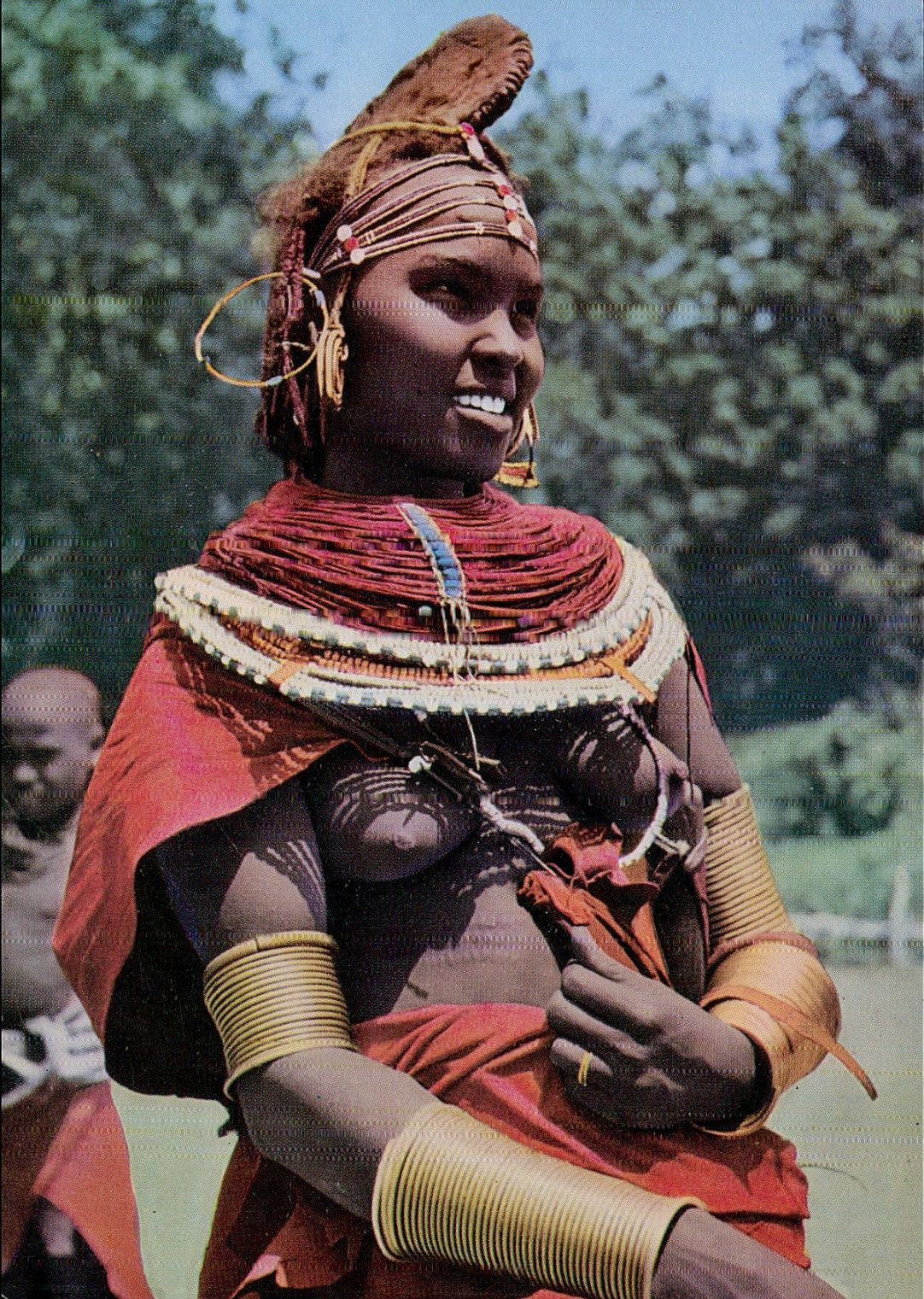 Rendille Girl, Kenya  Alta Nativ  African Girl, African -4826