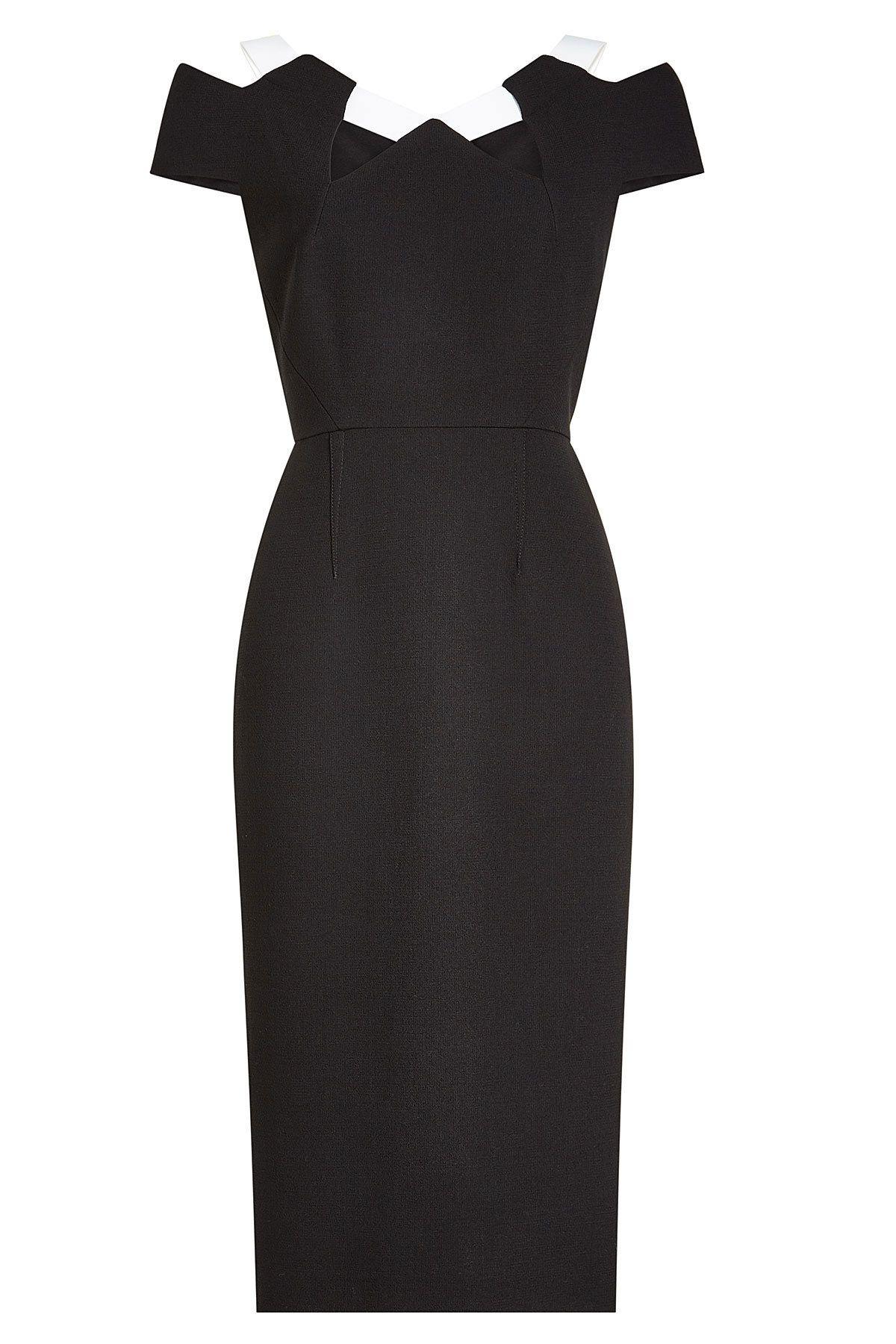 9a162c7dc70 Roland Mouret - Wool Dress