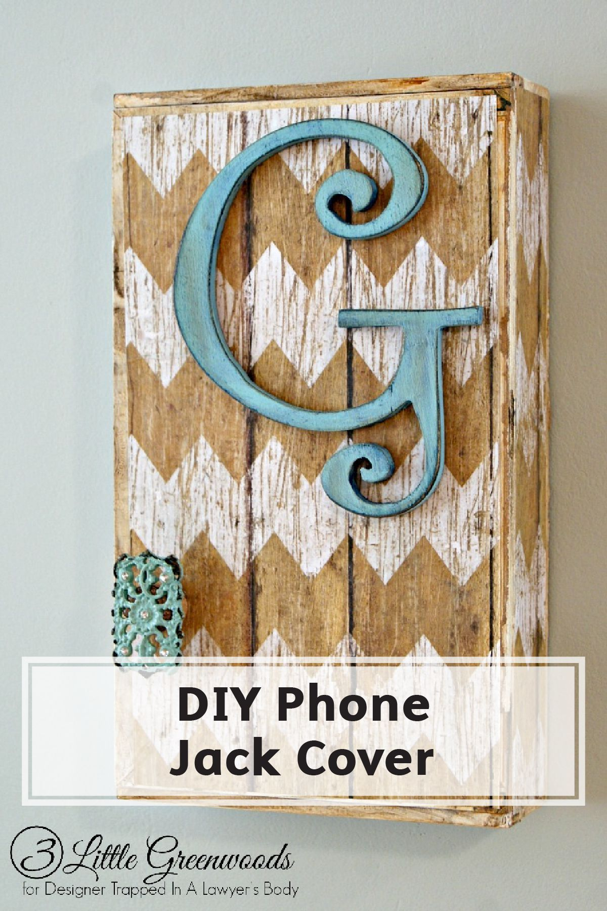 How to Hide a Phone Jack #wallphone