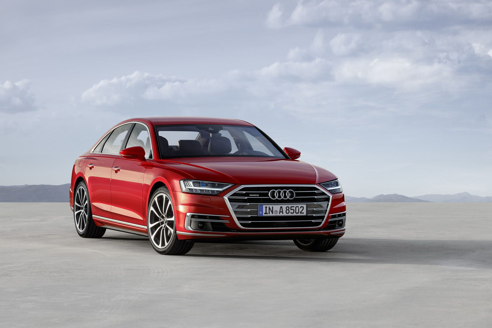 World Premiere 2018 Audi A8 It S Under The Skin That Matters Audi A8 Audi Luxury Sedan