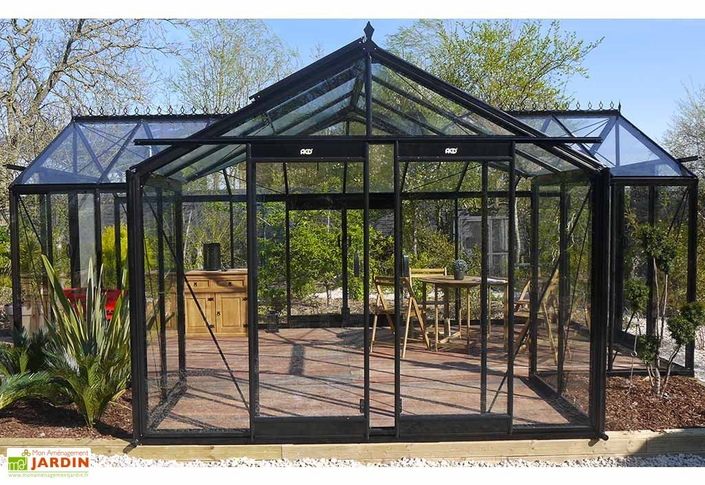 Serre de Jardin Orangerie 22,59 m² | Serre jardin, Maison ...