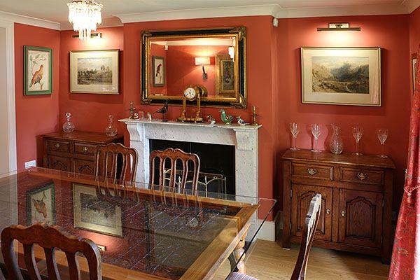 Bespoke Oak Dresser Bases In Period Dining Room