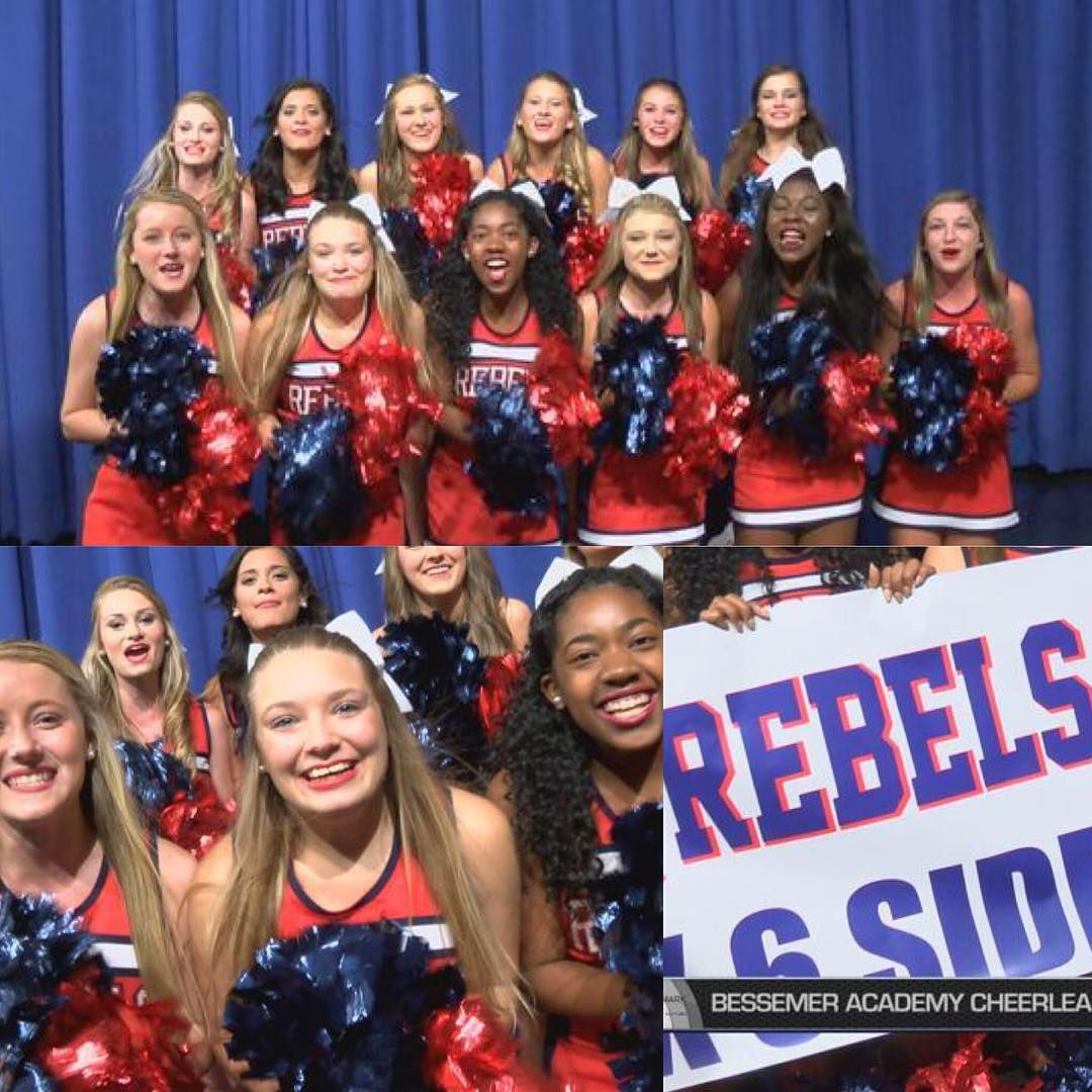 Our week 1 #cheerleadersoftheweek… Bessemer Academy