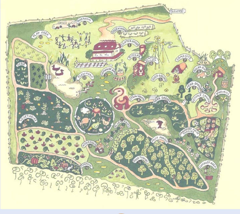 rivendel village perma garden garden pinterest