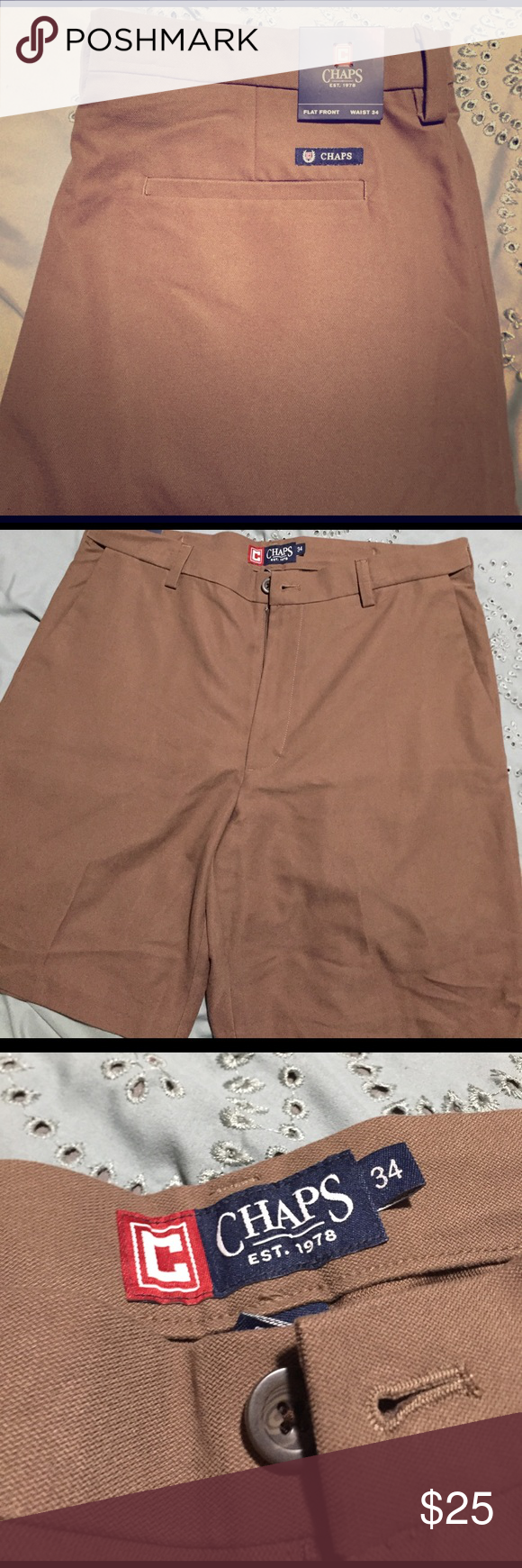19 Lovely Chaps Flat Front Shorts