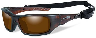 WILEY X ARROW Polarized Amber Matte Layered Tortoise Frame OhQmopYqKB