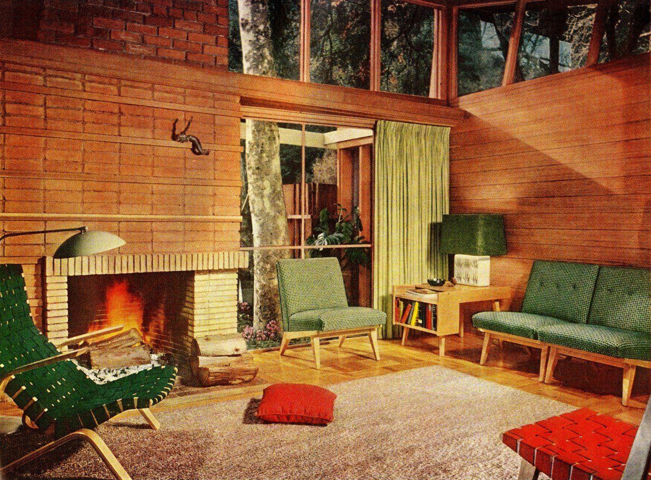 50 Brilliant Living Room Decor Ideas In 2019: The50s: €� Fabulous €�50s Living Room €�Better Homes