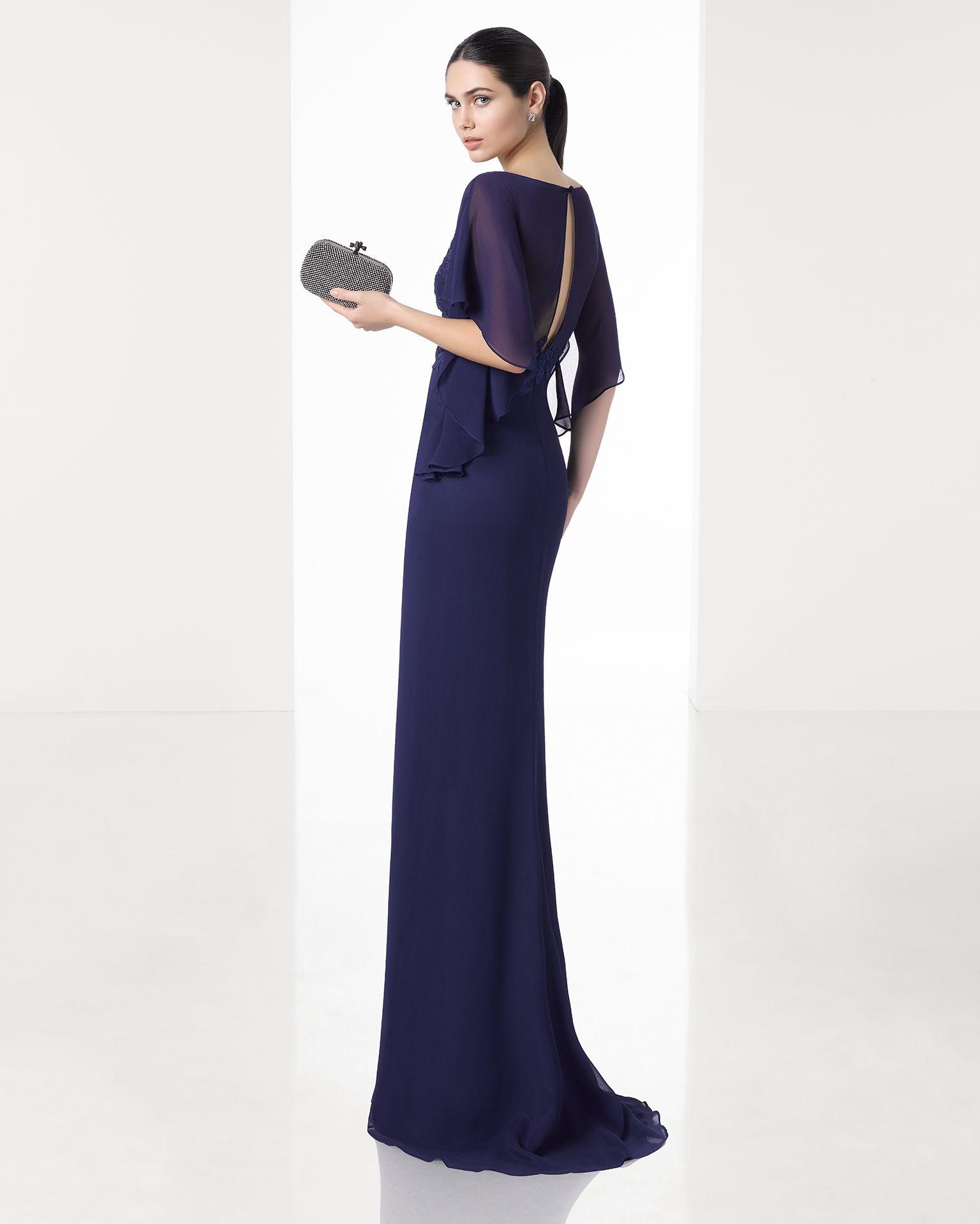 1T150 | leicht Kleid, Kobaltblau und Schulterfrei