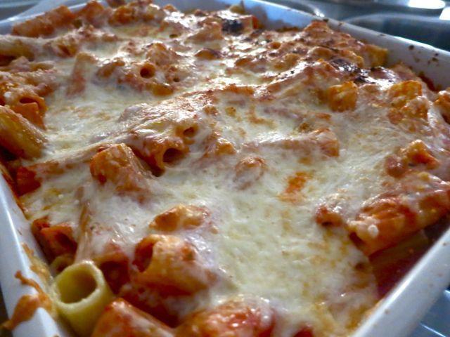 Easy Baked Rigatoni | Recipe | Rigatoni and Dinner ideas