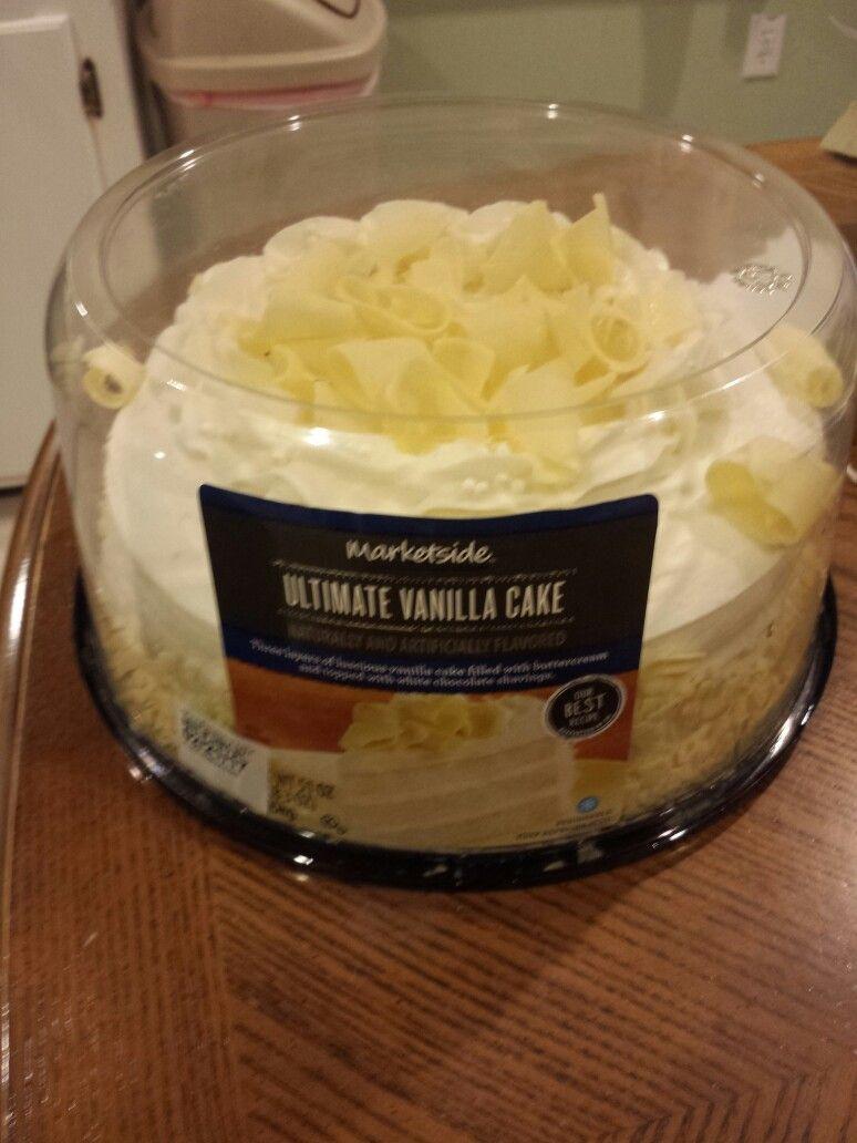Walmart Marketside Ultimate Vanilla Cake Naturally And