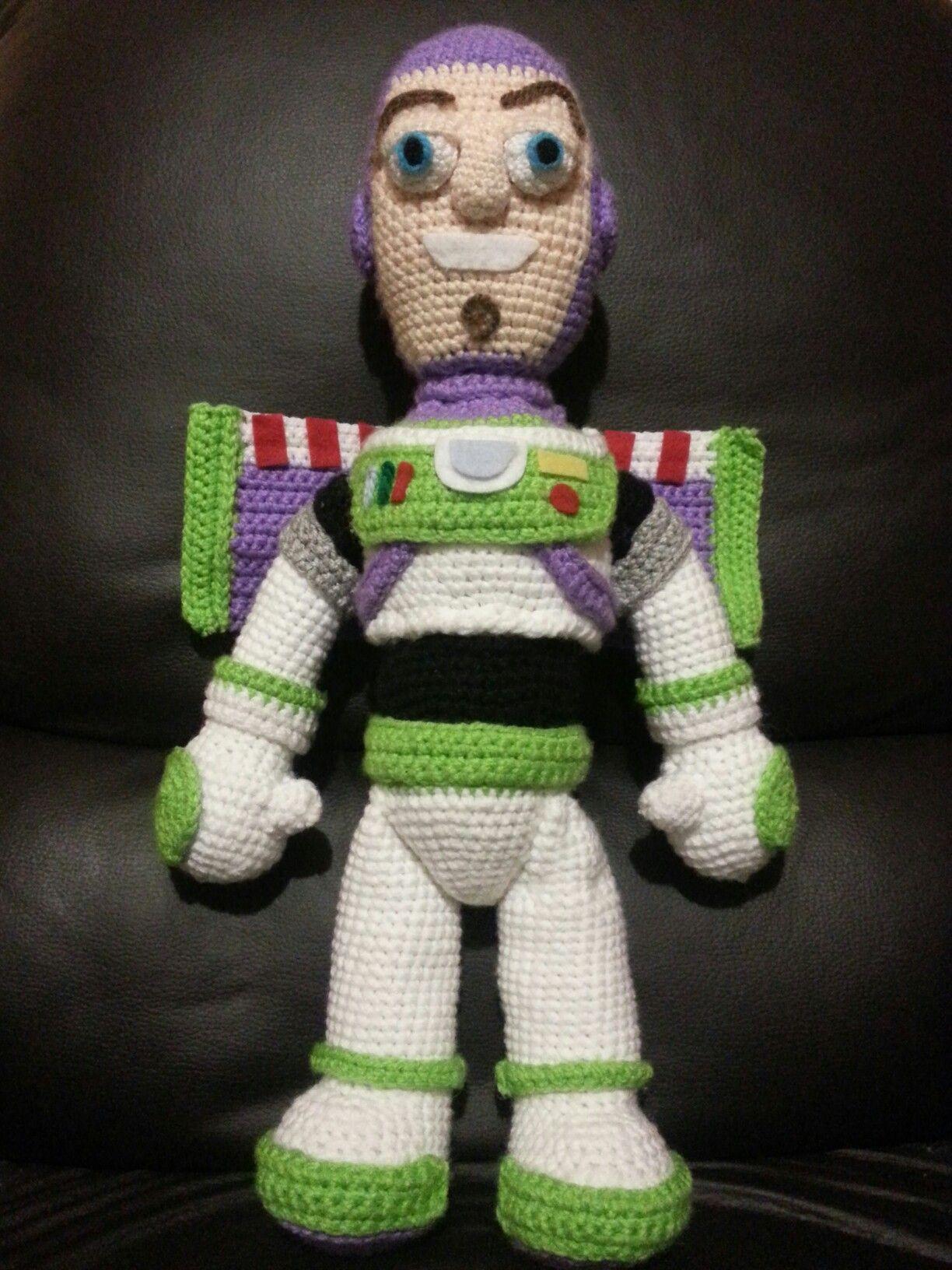 Buzz Lightyear Amigurumi | Knitting / Crochet | Pinterest | Patrones ...