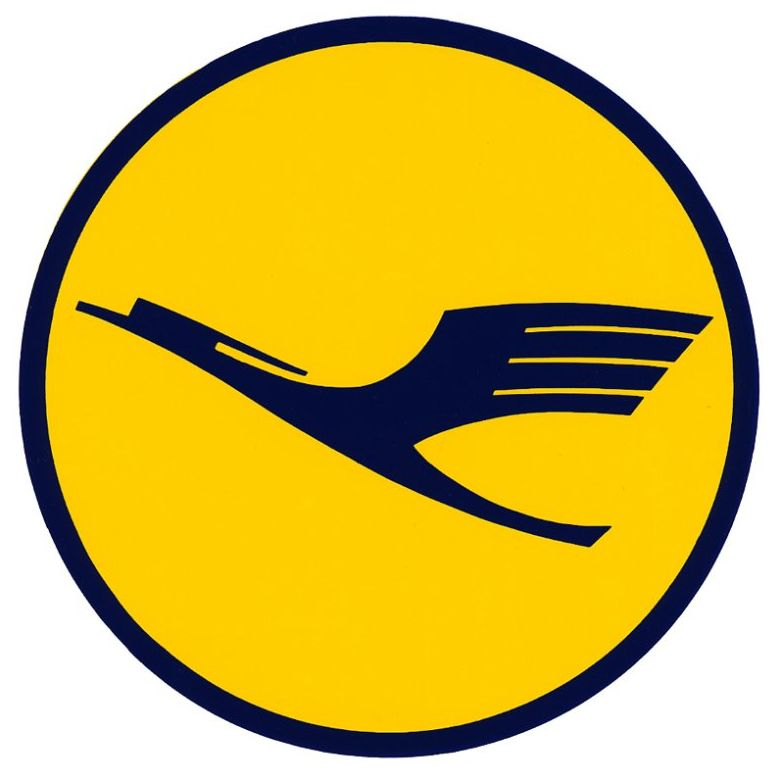 Lufthansa logo: One of the best known logos in airline ...