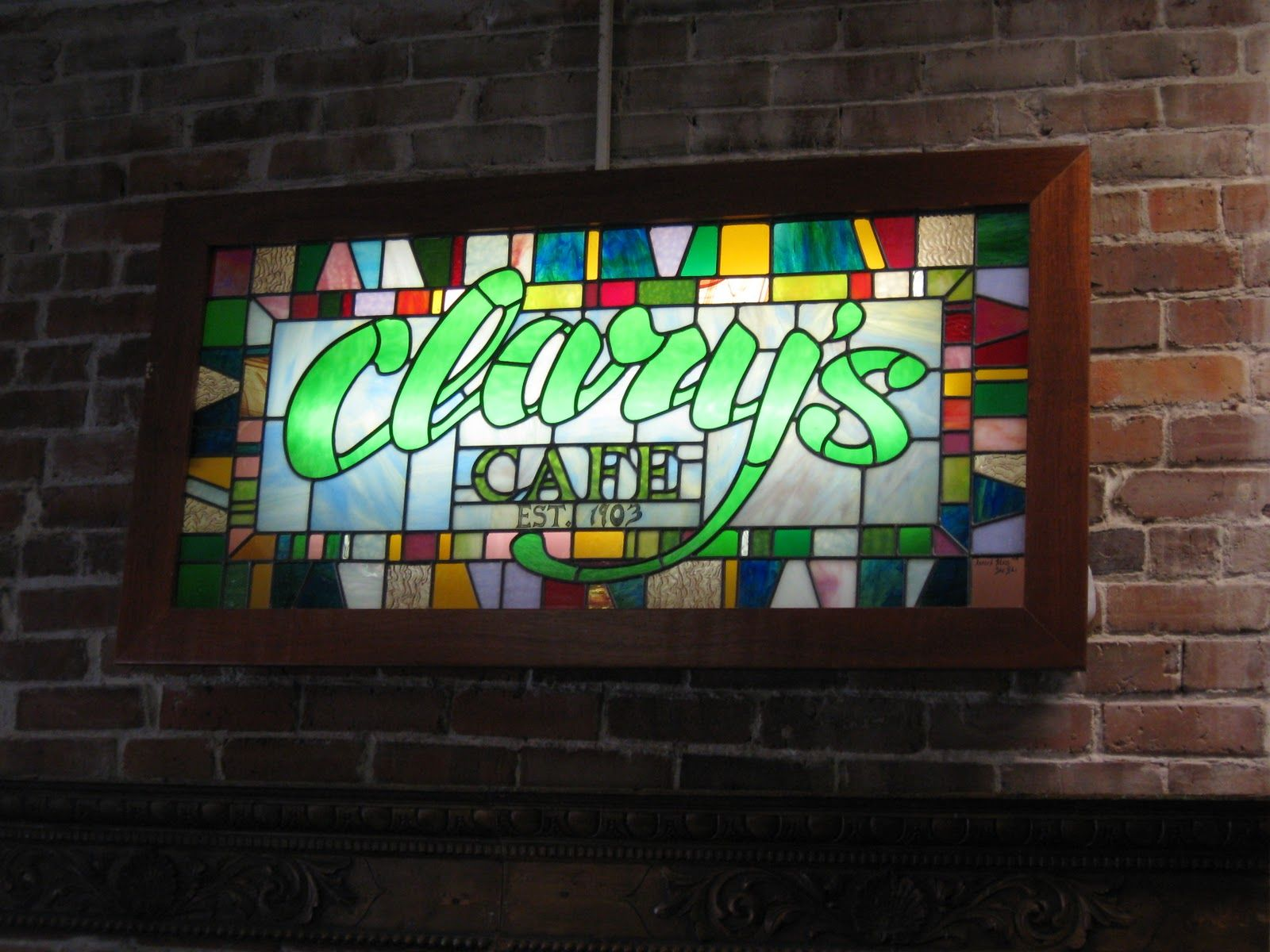Clary's Cafe in Savannah, GA  Not only can you visit a spot from the