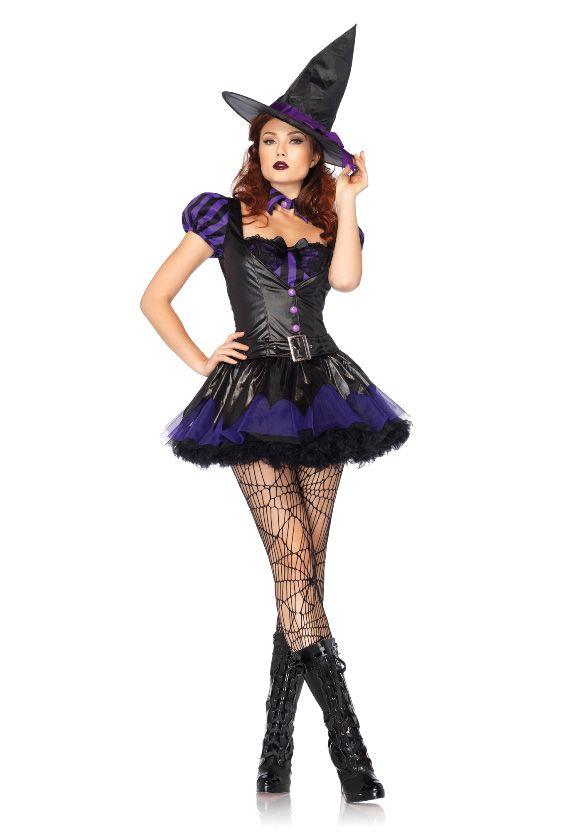 Sexy Halloween Witch Spellcaster Fancy Dress Costume WW Costumes - witch halloween costume ideas