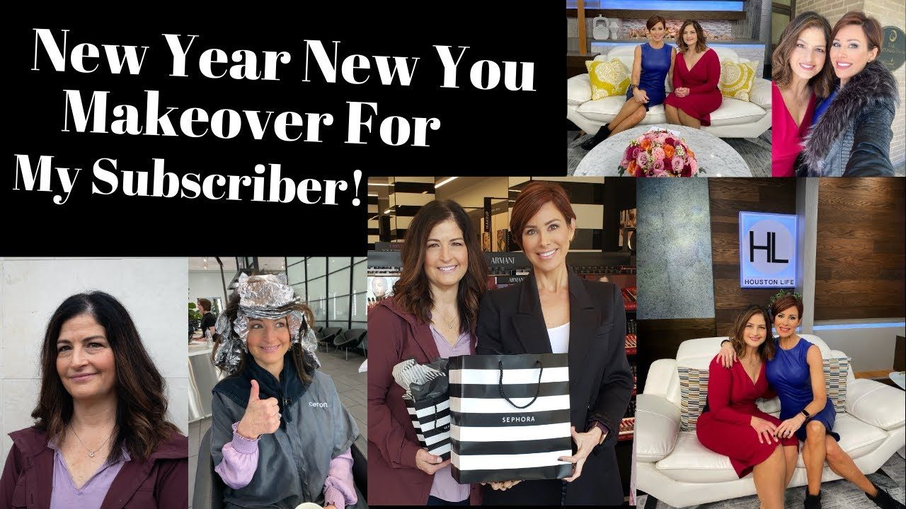 New Year New You Makeover For My Subscriber! Dominique