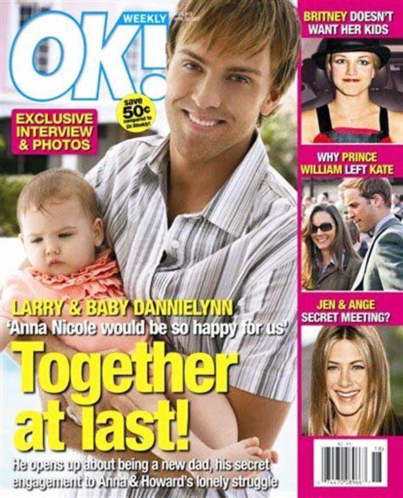 Image result for anna nicole smith baby ok magazine