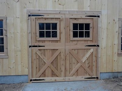 Custom Built Wooden & Aluminum Barn Doors | Dutch Exterior S…