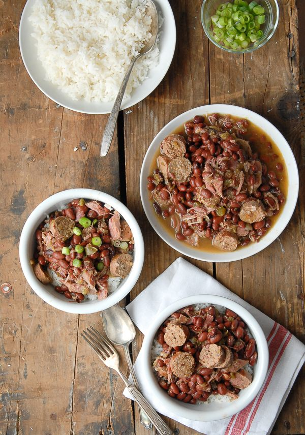 Slow Cooker Louisiana Red Beans and Rice - BoulderLocavore.com