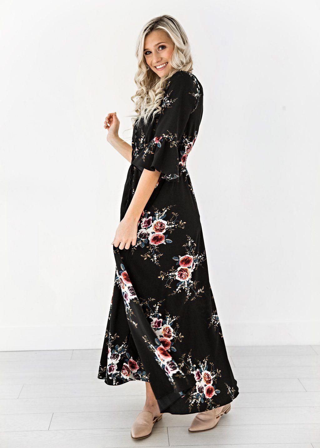 01815684de7 Dreamer Floral Maxi Dress