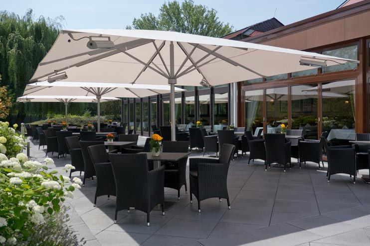 CARAVITA Patio Umbrellas Are Used All Over The World. Have A Look On Our  Chosen References And Convince Yourself Of The Excellent Style And Quality.