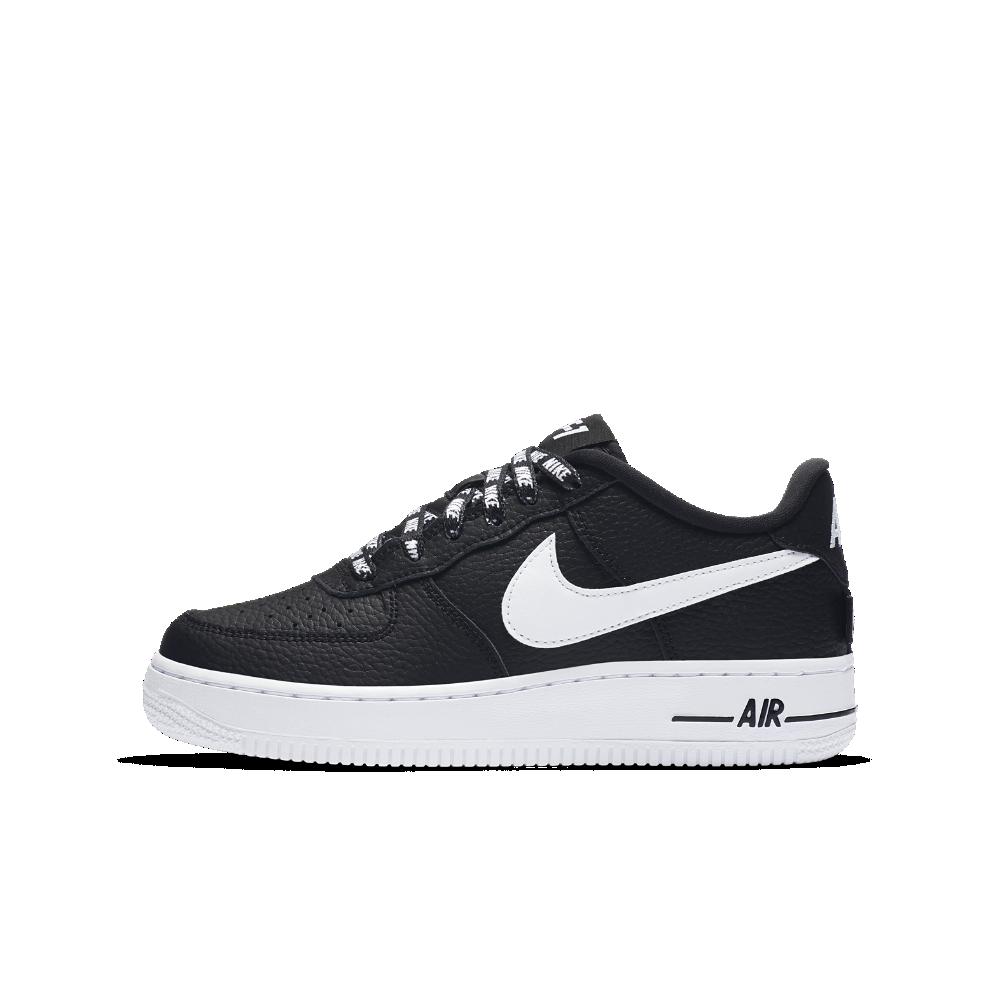 Nike Air Force 1 LV8 NBA Big Kids' Shoe Size 6Y (Black