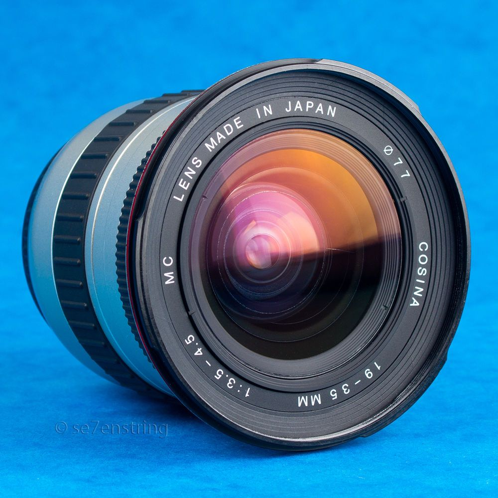 Cosina 19-35mm F3.5-4.5 AF Wide Angle Zoom Lens Canon EF EOS Film Digital Fit #Cosina